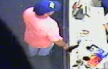 The man seen here is a suspect in a Walgreens robbery that happened on Oct. 2 in the 6400 block of Gravois in south St. Louis.