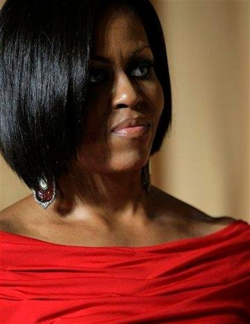 First lady Michelle Obama attends the White House Correspondents' Association Dinner at the Washington Hilton Hotel, Saturday, May 1, 2010, in Washington.    (AP Photo/J. Scott Applewhite) By J. Scott Applewhite
