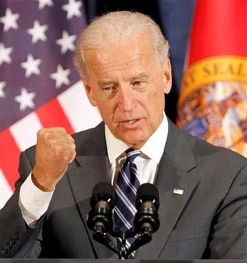 Vice President Joe Biden speaks to guests at the Florida Democratic Party event for Florida's Democratic candidates in Hollywood, Fla., Friday, Sept. 24, 2010. (AP Photo/Alan Diaz) By Alan Diaz