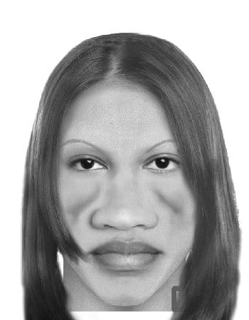 The sketch of a female suspect seen in this photo is wanted in connection to a robbery at a St. Charles Payday Loan store that happened on Wednesday, October, 20, 2010.