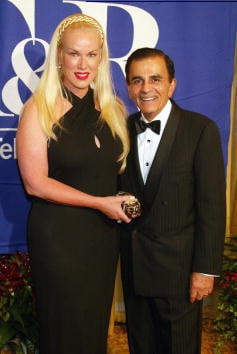 Jean and Casey Kasem at The Museum of Television and Radio's annual Los Angeles gala to honor Ted Danson and Dick Wolf at the Regent Beverly Wilshire Hotel in Beverly Hills, Ca. Sunday, Sept. 29, 2002. Photo by Kevin Winter/ImageDirect. By Kevin Winter