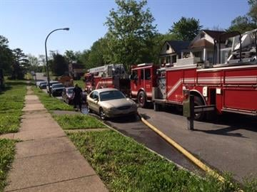 According to the St. Louis Fire Department, the firefighter was injured while at the fire in the 5800 block of Saloma around 8:30 a.m. By Stephanie Baumer