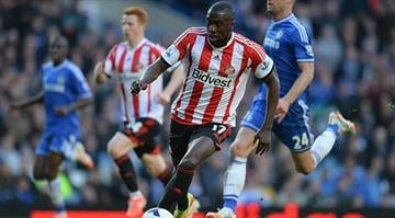 Jozy Altidore  of Sunderland in action during the Barclays Premier League match between Chelsea and Sunderland at Stamford Bridge on April 19, 2014 in London, England.  (Photo by Mike Hewitt/Getty Images) By Mike Hewitt