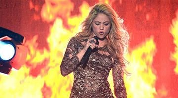 LAS VEGAS, NV - MAY 18:  Singer Shakira performs onstage during the 2014 Billboard Music Awards at the MGM Grand Garden Arena on May 18, 2014 in Las Vegas, Nevada.  (Photo by Ethan Miller/Getty Images) By Ethan Miller