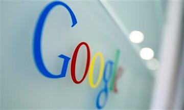 File image of the Google logo By Virginia Mayo