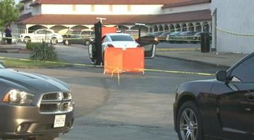 Authorities say the victims, a man in his 20s and a woman in her early 20s, were found shot to death inside a white Pontiac parked near the Pleasant Wood Ridge Shopping Plaza around 5:15 p.m. By Brendan Marks