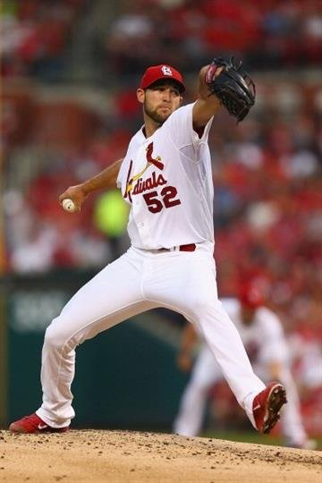ST. LOUIS, MO - MAY 21: Starter Michael Wacha #52 of the St. Louis Cardinals pitches against the Arizona Diamondbacks at Busch Stadium on May 21, 2014 in St. Louis, Missouri.  (Photo by Dilip Vishwanat/Getty Images) By Dilip Vishwanat