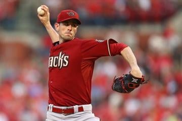 ST. LOUIS, MO - MAY 21: Starter Brandon McCarthy #32 of the Arizona Diamondbacks pitches against the St. Louis Cardinals at Busch Stadium on May 21, 2014 in St. Louis, Missouri.  (Photo by Dilip Vishwanat/Getty Images) By Dilip Vishwanat
