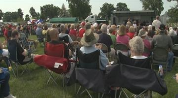 File footage from the 2013 Jefferson Barracks Memorial Day ceremony By Brendan Marks
