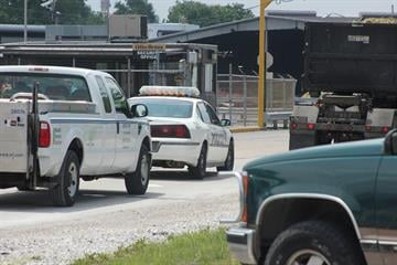 Two people were hospitalized following a fire or explosion at the Olin Brass plant in East Alton on Tuesday. By Brendan Marks