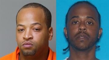 Police told News 4 they have arrested Terrence T. Lee, 30, (left) and are searching for searching for Turhan Robinson, 37, (right) in connection with the death of Kenneth Deal.