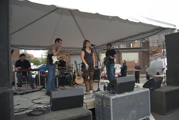 Many gathered to drink and dance at the annual beer festival on 9/15/12. By KMOV Web Producer