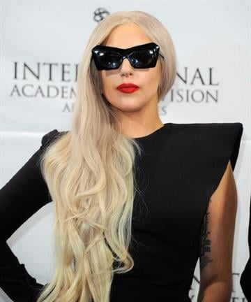 NEW YORK, NY - NOVEMBER 21:  Lady Gaga attends the 39th International Emmy Awards at the Mercury Ballroom at the New York Hilton on November 21, 2011 in New York City.  (Photo by Andrew H. Walker/Getty Images) By Andrew H. Walker