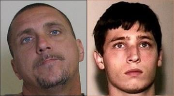 Jason Brown, 36, and Matthew Conrad, 24, were charged with felony residential burglary after allegedly breaking into a Collinsville home. By Dan Mueller