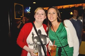 Fans enjoy music by Matthew Sweet at Blueberry Hill on 9/22/12. By KMOV Web Producer