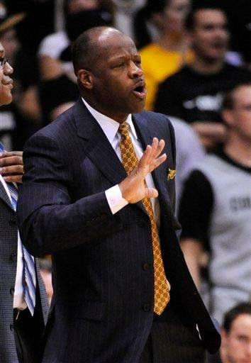 Missouri head coach Mike Anderson reacts against Colorado during the first half of an NCAA college basketball game, Saturday, Jan. 8, 2011, in Boulder, Colo. (AP Photo/Jack Dempsey) By Jack Dempsey