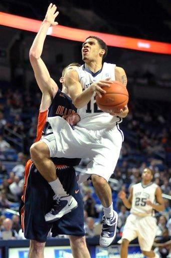 Penn State's Talor Battle looks to the basket during the first half against Illinois in an NCAA college basketball game Tuesday, Jan. 11, 2011, in State College, Pa. (AP Photo/Ralph Wilson) By Ralph Wilson