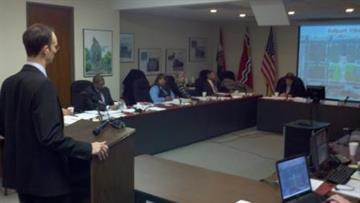 Bill DeWitt III, Cardinals President, addressing Missouri Downtown Economic Stimulus Authority. By KMOV Web Producer