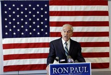 U.S. Rep. Ron Paul, R-Texas, speaks during a news conference at his newly opened Iowa campaign office, Tuesday, May 10, 2011, in Ankeny, Iowa. (AP Photo/Charlie Neibergall) By Charlie Neibergall