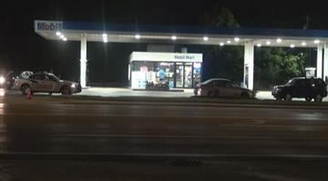 According to police, a man walked into the Mobile gas station in the 11100 block of Olive Blvd. around 2:50 a.m. and implied he had a weapon. The clerk handed the suspect an unknown amount of cash and the man fled the store on the foot. By Brendan Marks