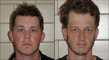Thomas Wangelin, 31, and Adam Wangelin, 24, face charges after police say they were found passed out from an apparent drug overdose in the parking lot of a Caseyville, Ill. Dairy Queen on May 24. By Brendan Marks
