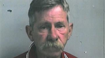 Registered sex offender Wendell Alexander, 62, was arrested after police say he was acting suspiciously in Arnold City Park on Sunday. By Brendan Marks
