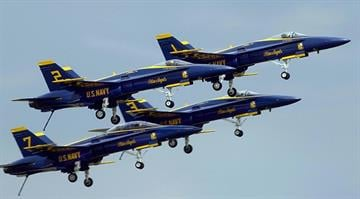 File photo of the Blue Angels By STEPHEN JAFFE