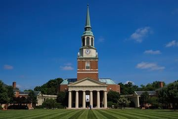 WINSTON SALEM, NC - JUNE 06:  General view of Wait Chapel prior to the Maya Angelou Memorial Service at Wake Forest University on June 6, 2014 in Winston Salem, North Carolina.  (Photo by Grant Halverson/Getty Images) By Grant Halverson