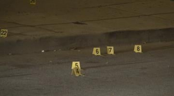 A former St. Louis Rams player was caught in the crossfire of a shooting that sent a 30-year-old man to the hospital in north St. Louis early Monday morning. By Brendan Marks