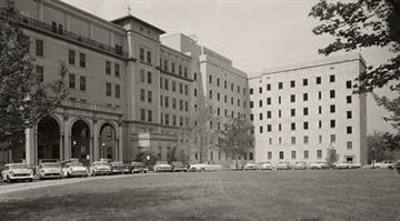 Exterior of the West Wing in the late 1950s By Brendan Marks