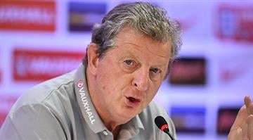England's coach Roy Hodgson speaks during a press conference at the Urca military base in Rio de Janeiro on June 10, 2014, ahead of the 2014 FIFA World Cup in Brazil. AFP PHOTO/BEN STANSALL By BEN STANSALL