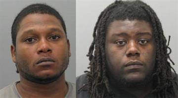 Joshua Martin (left), 28, has been charged with two counts of assault on a law enforcement officer and two counts of armed criminal action. Christopher Martin (right), 23, has been charged with distributing narcotics and intent to distribute narcotics.