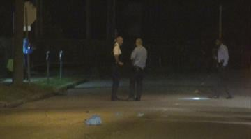 A man bleeding from the head showed up at a busy part of the Central West End after being shot early Wednesday morning. By Brendan Marks