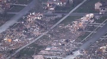 The mayor of the central Illinois community of Washington says storms and tornadoes destroyed or heavily damaged between 250 and 500 homes in the Tazewell County community. By Brendan Marks