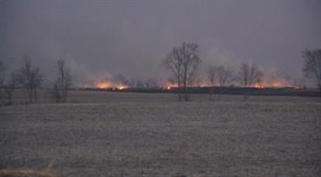 (KMOV.com) Buildings in Houstonia, Mo. caught fire following a late night explosion. By Alexander Schuster