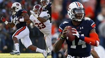 Stopping Tre Mason (left) and Nick Marshall (right) will be a tall task for the Mizzou defense