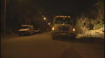 (KMOV.com) – Crews worked overnight Wednesday fixing a gas leak in north St. Louis. By Stephanie Baumer