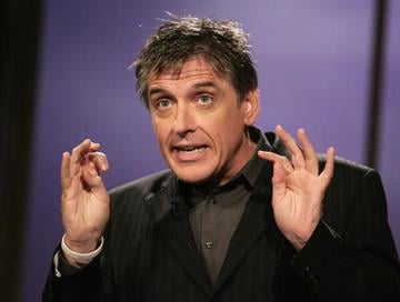 """LOS ANGELES - SEPTEMBER 28:  Host Craig Ferguson performs during the taping of """"The Late Late Show with Craig Ferguson"""" on September 28, 2005 at CBS Television City in Los Angeles, California. (Photo by Vince Bucci/Getty Images) By Vince Bucci"""