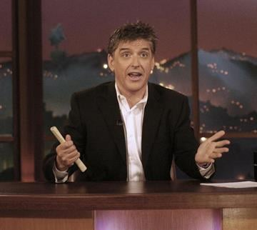 LOS ANGELES - APRIL 6:  Host Craig Ferguson speaks during segment of The Late Late Show With Craig Ferguson at CBS Television Studios on April 6, 2006 in Los Angeles, California.  (Photo by Frederick M. Brown/Getty Images). By Frederick M. Brown