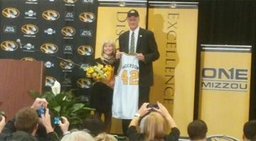 Anderson was introduced during a 10 a.m. press conference in the Great Room of the Reynolds Alumni Center. By Brendan Marks