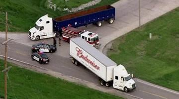 A motorcyclist was killed in a wreck involving a Budweiser semi truck in Granite City Wednesday morning. By Brendan Marks