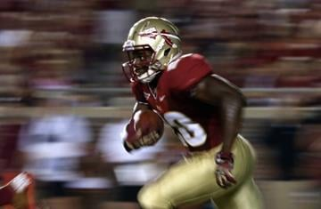 TALLAHASSEE, FL - SEPTEMBER 22:  Lamarcus Joyner #20 of the Florida State Seminoles during their game at Doak Campbell Stadium on September 22, 2012 in Tallahassee, Florida.  (Photo by Streeter Lecka/Getty Images) By Streeter Lecka