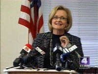 Democratic U.S. Sen. Claire McCaskill By Bryce Moore