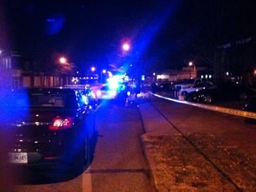 This December 2, 2010 photo shows the scene of a shooting that left one person injured at the intersection of Gravois and Pennsylvania in south St. Louis Thursday evening. Police say this happened at a bus stop.