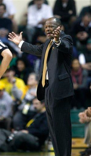 Missouri head coach Mike Anderson reacts to a call in the first half during their NCAA college basketball game with Oregon Thursday, Dec. 2, 2010, in Eugene, Ore. Missouri defeated Oregon 83-80. (AP Photo/Rick Bowmer) By Rick Bowmer