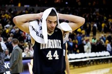 Vanderbilt's Jeffery Taylor walks off the court after his team lost to Missouri 85-82 in overtime in an NCAA college basketball game Wednesday, Dec. 8, 2010, in Columbia. Mo. (AP Photo/L.G. Patterson) By L.G. Patterson