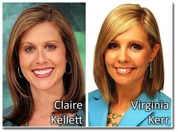 After three months off the air for maternity leave, Virginia Kerr will soon return to KMOV in a new role.  She will become a co-host of Great Day St. Louis, while Claire Kellett takes over as co-anchor of Awake with News 4. By KMOV Web Producer