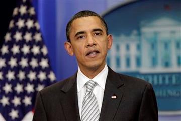 President Barack Obama makes a statement on the tax cut bill at the White House on Monday, Dec. 13, 2010 in Washington.  (AP Photo/J. Scott Applewhite) By J. Scott Applewhite