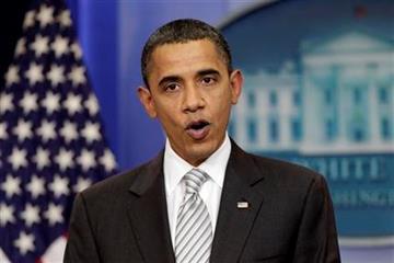 President Barack Obama makes a statement on the tax cut bill at the White House on Monday, Dec. 13, 2010, in Washington.  (AP Photo/J. Scott Applewhite) By J. Scott Applewhite