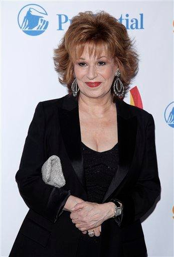 Honoree Joy Behar attends the 21st annual GLAAD Media Awards in New York, on Saturday, March 13, 2010.  (AP Photo/Peter Kramer) By Peter Kramer